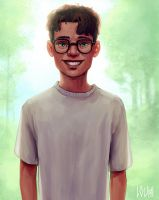 young Harry Potter by LouhiArt