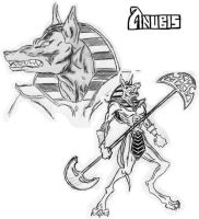 Lord Anubis by beast-master