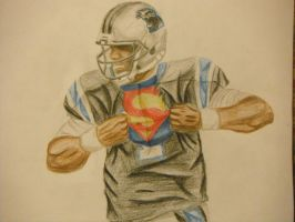 Cam Newton Superman by Chris112288