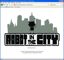 Robot In The City - Teaser by soks2626