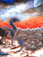 Winters Dusk by Kyyraneth