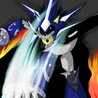 Metal Sonic ~Heroes~ by Lovelessdeception