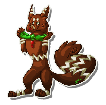 Art Trade: Ginger Snap by Rile-Reptile