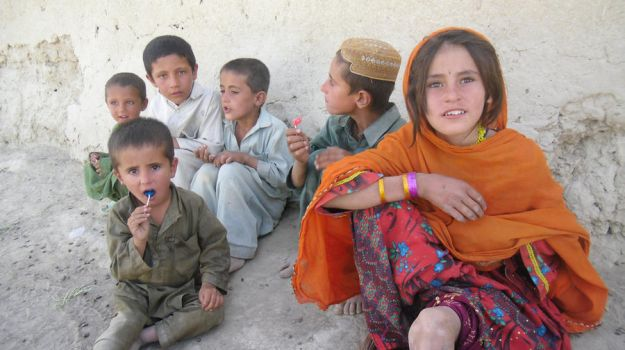 Children of Afghanistan by Quinnquelyn