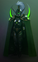 Battle-Cop Maiev Recolor 1 by ThunderKunst