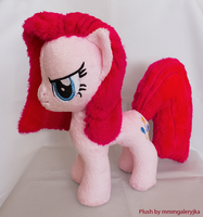Pinkamena inspired plush by mmmgaleryjka