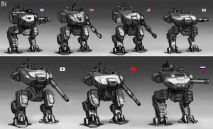 Mecha Nation by 152mm