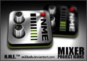N.M.E. Mixer Icon _m1losh by m1losh