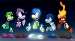 Rayman's Emotions by EarthGwee