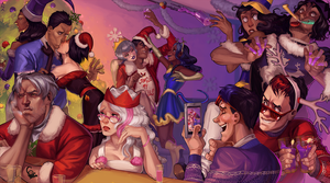 Christmas Party by Valong