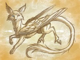 Flying creature by Dany-the-Hell-Fox