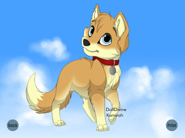 Kawaii Adoptable Puppy by HeartinaThePony
