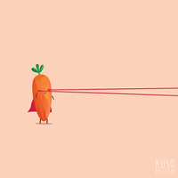 Super Carrot by kusodesign