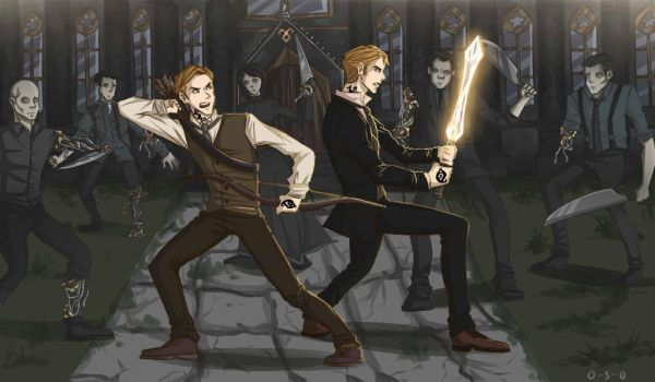 The Lightwood Brothers by cinash