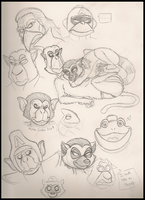 Star Fox Doodles by IsabellaPrice