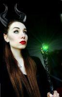 Maleficent by Sina-Rose