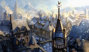 Winter in Laketown by e-mendoza