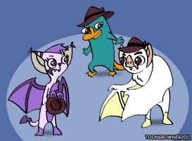 Request: Agent Bats by toongrowner