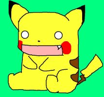 retarded pikachu kawaii by girloveslink