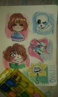 Undertale: My fave characters~ by owlivi