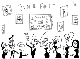 Join the Party by ryanrosendal