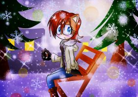 Winter in mobius Sally by NicoleLynx45
