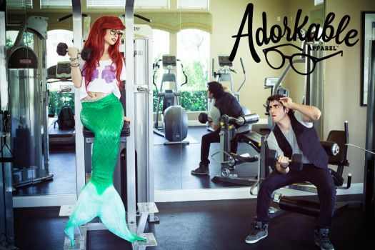 Adorkable Bicep Curls by TheRealLittleMermaid