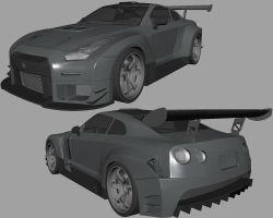Nissan GTR gt2-update by AfroAfroguy