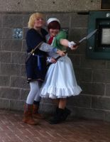 Chibimano and Viking Finland ( animefest 2014 ) by AlternianButterfly