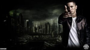Eminem Wallpaper by ManiaGraphic