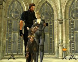 Wesker and Jill's Pet by Jill---Valentine