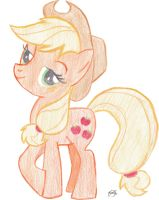 Applejack by Fatfighterfriedi