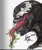 Venom Sketch by Archonyto