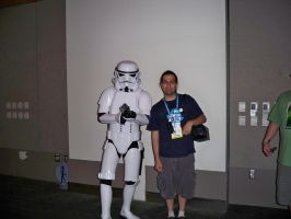 With a Storm Trooper by OneRadicalDude