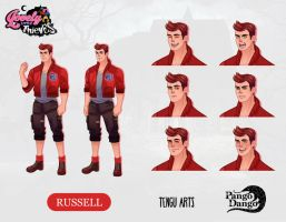 Lovely Little Thieves : Russell by Tengu-Arts