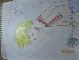 The lovely Roxas by T400naruto