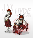 Jax and hyde by The-Red-Right-Hand