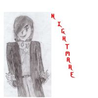 Nightmare Drawing by WolfDeityProductions