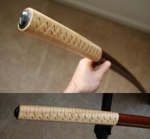 Bokken Carved by Pierropod