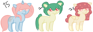 Pony Adoptables -sold- by Dulcet-Adopts