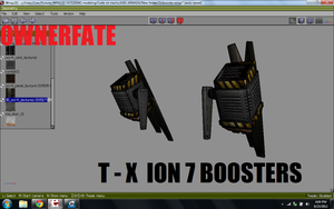 T-X Ion 7 Boosters by ownerfate