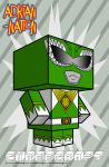 Green Ranger template by ADRIAN-NATION
