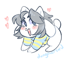 temmie animation by dongoverlord