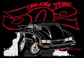 Blow Thru 302 Mustang by RobSWD