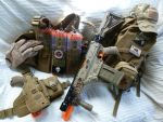 Humans vs Zombies NERF Load Out by MarcWF