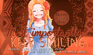 [Outcome #12] - Never Smiling Stop by Rin-Kaleido-Rehg
