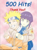 1st Kiriban - Naruhina by nasrul-ds3
