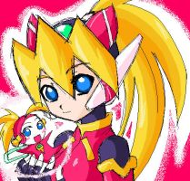 rockman Ciel - not official- by Drawloverlala