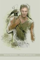 Norman Reedus as Daryl Dixon by eyeqandy