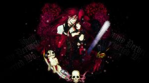 Grell and Madame Red by HimeKurai